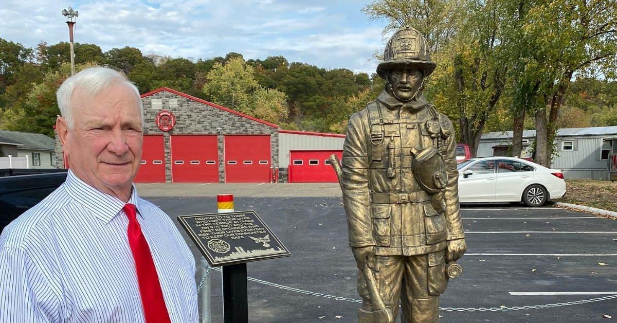 Joe Statler at Granville Fire Department.