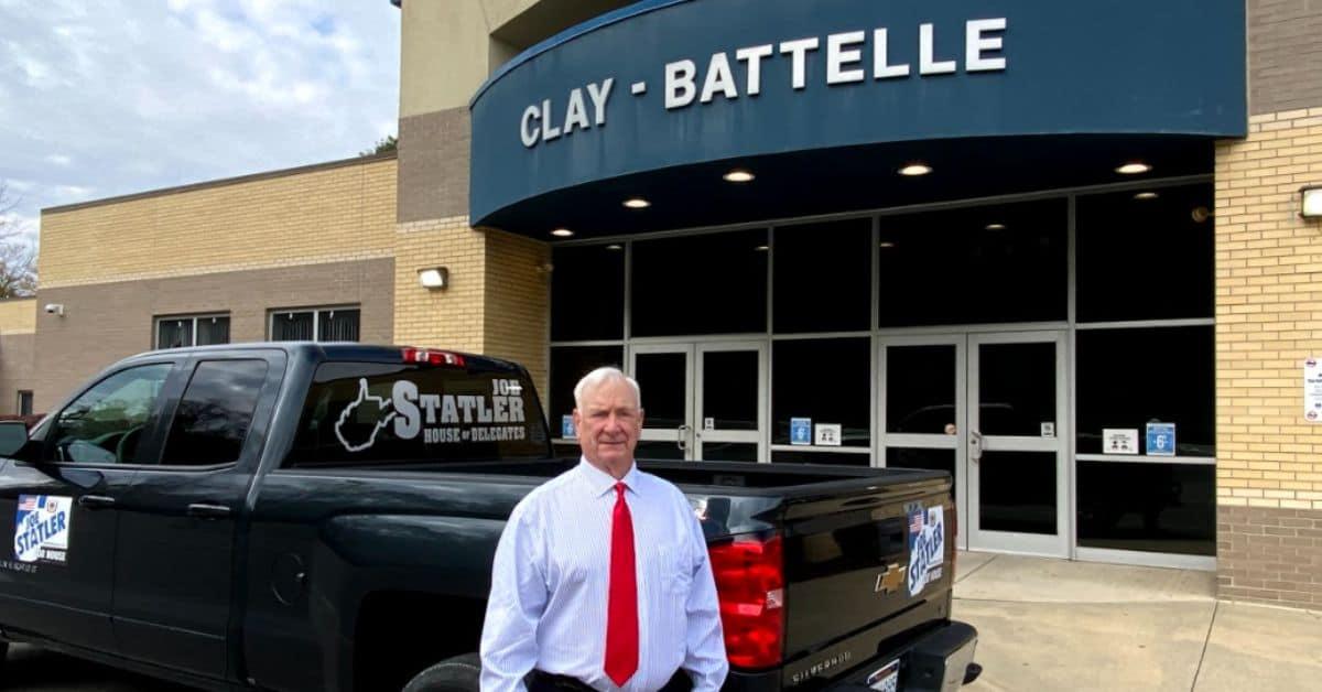 Joe Statler at Clay-Battelle High School.